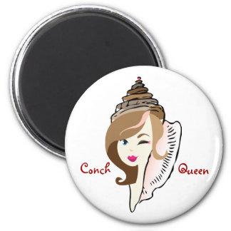 Conch Queen magnet