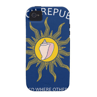 Conch Republic Flag Case-Mate iPhone 4 Covers