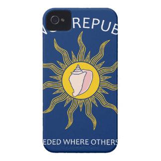 Conch Republic Flag iPhone 4 Case-Mate Case