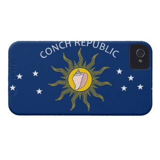 Conch Republic Flag iPhone 4 Case-Mate Cases