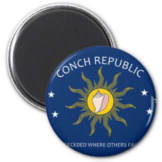 Conch Republic Flag Refrigerator Magnets