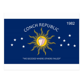 Conch Republic Flag Post Cards