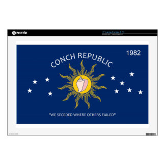 Conch Republic Flag Skins For Laptops