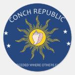 Conch Republic Stickers