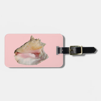 Conch Seashell Bag Tag