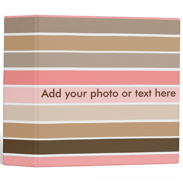 Conch Seashell Colors Binder