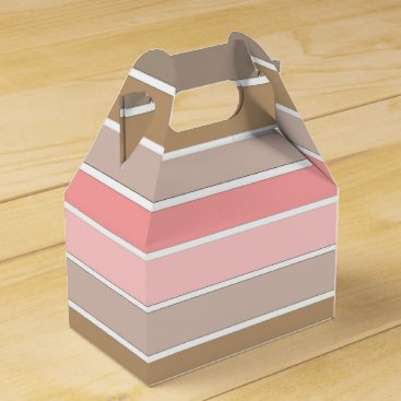 Beach Themed Conch Seashell Colors Favor Box