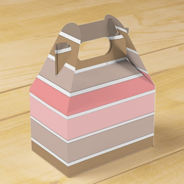 Conch Seashell Colors Favor Box