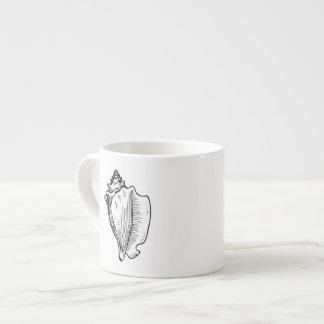 Conch Seashell Espresso Cup