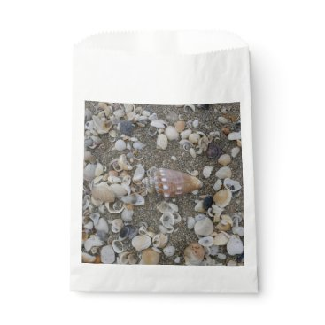 Conch Seashell Treasure Favor Bag