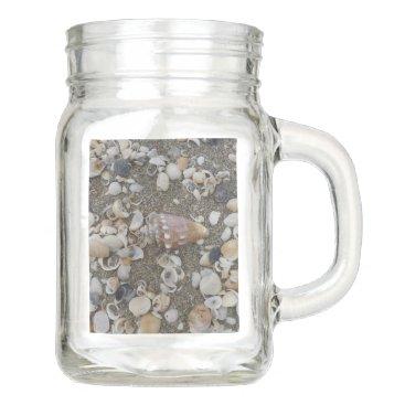 Conch Seashell Treasure Mason Jar