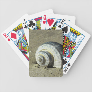 Conch Shell Bicycle Playing Cards