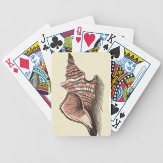 Conch Shell Bicycle Poker Cards