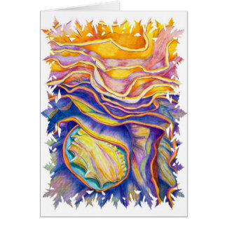 Conch Shell Card