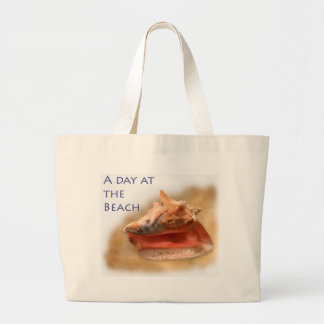 Conch Shell - Customized Jumbo Tote Bag
