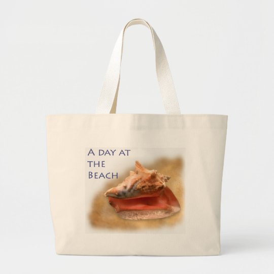 Conch Shell - Customized Large Tote Bag