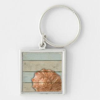 Conch Shell Keychain