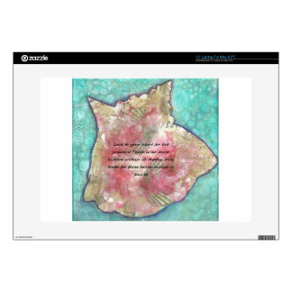 Conch shell laptop decals