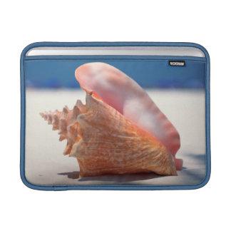 Conch Shell On Beach 2 MacBook Air Sleeve