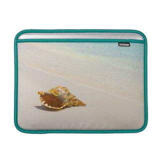 Conch Shell On Beach 3 MacBook Air Sleeve