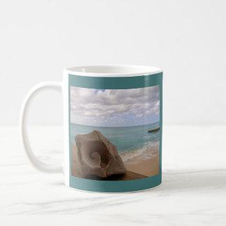 Conch Shell Paradise Beach Classic White Coffee Mug
