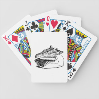 Conch Shell Poker Cards