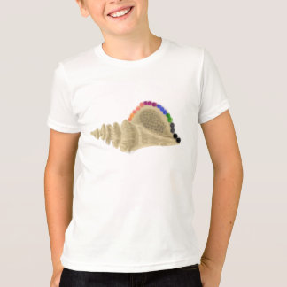 Conch Shell With Rainbow Pearls T-Shirt