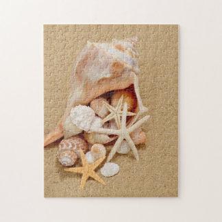 Seashell Jigsaw Puzzles Zazzle
