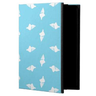 Conch Shells on Aqua iPad Air Covers