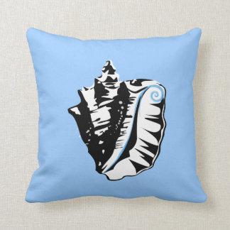 Conch throw cushion pillow