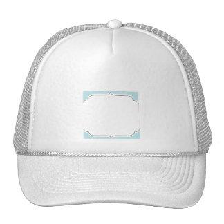 Concha de peregrino azul del diamante gorras de camionero