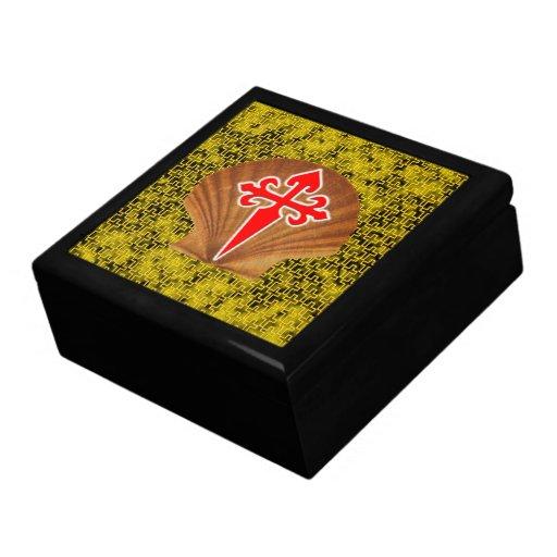 Concha de peregrino Shell Caja De Regalo