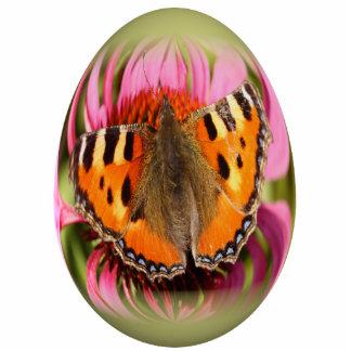 concha del huevo de Pascua pequeña Adorno Fotoescultura