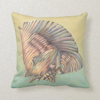 Concha grande en colores pastel Shell Almohada