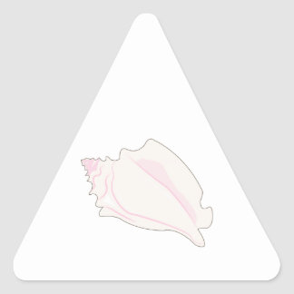 Concha Shell Pegatina Triangulo Personalizadas