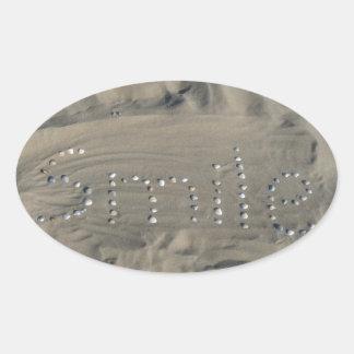 Conchas en la arena smile