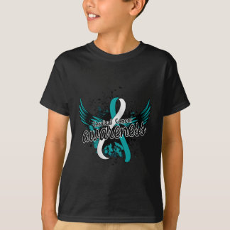 Conciencia 16 del cáncer de cuello del útero playera