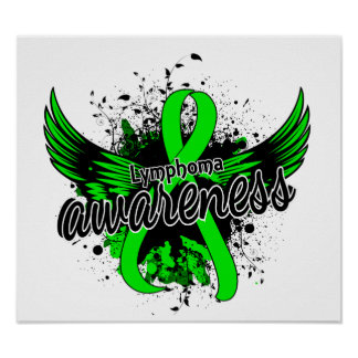 Conciencia 16 del linfoma póster