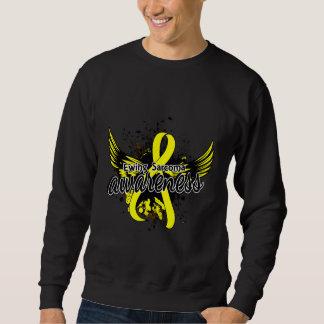 Conciencia 16 del sarcoma de Ewing Sudadera