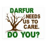 Conciencia 1 de Darfur Postal