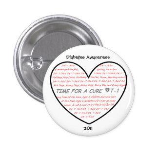 Conciencia 2011 de la diabetes pin