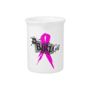 Conciencia 2013 del cáncer de pecho jarra para bebida