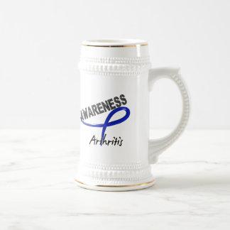 Conciencia 3 de la artritis tazas de café