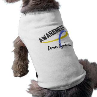 Conciencia 3 de Síndrome de Down Camisetas De Perro