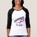 Conciencia 3 del Fibromyalgia Camisetas