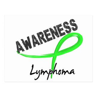 Conciencia 3 del linfoma postales