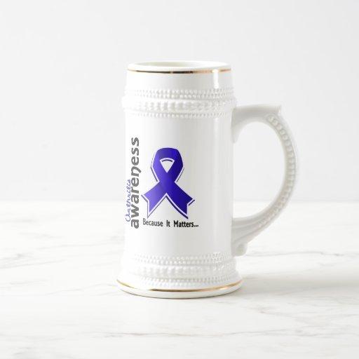Conciencia 5 de la artritis tazas de café