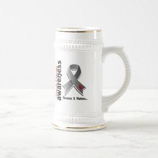 Conciencia 5 de la diabetes juvenil taza de café