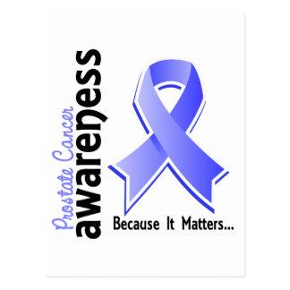 Conciencia 5 del cáncer de próstata postales