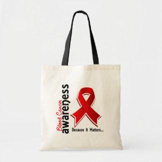 Conciencia 5 del cáncer de sangre bolsa tela barata